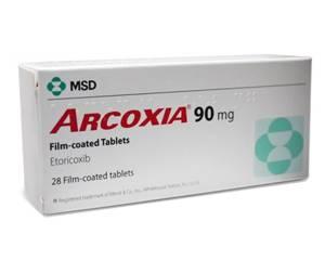 Acheter Arcoxia sans ordonnance